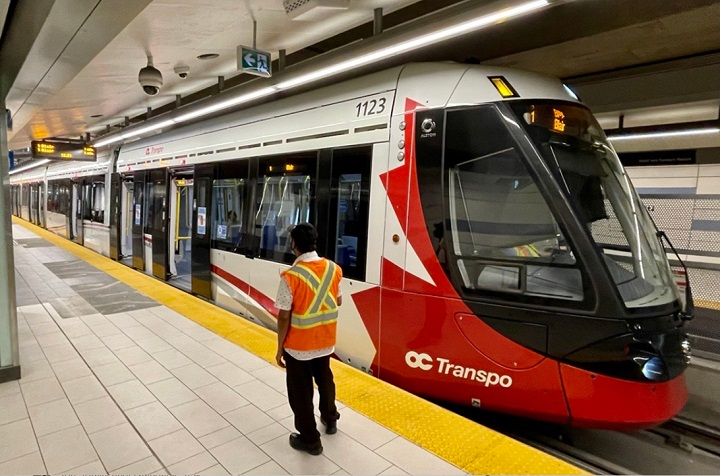 Ottawa's LRT line will resume reduced service on Saturday, Aug. 14 at 6 a.m. after an errant axle suspended service on the line for five days.