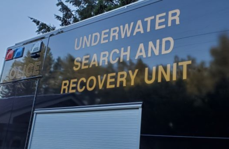 The OPP's Underwater Search and Recovery Unit was brought in to help with the search.