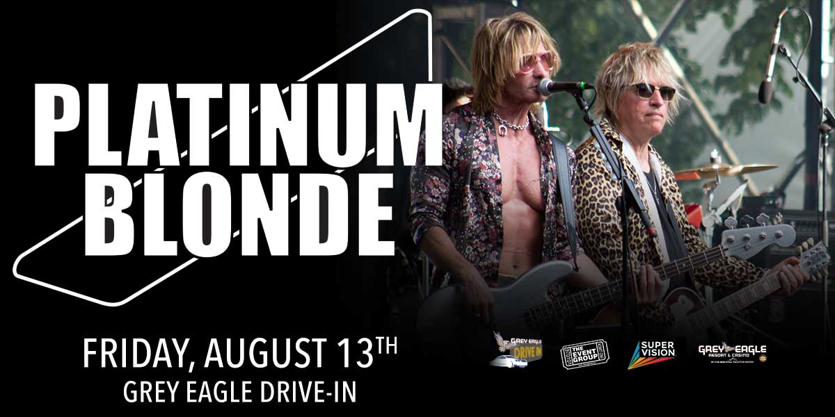 Grey Eagle Drive In: Platinum Blonde - image