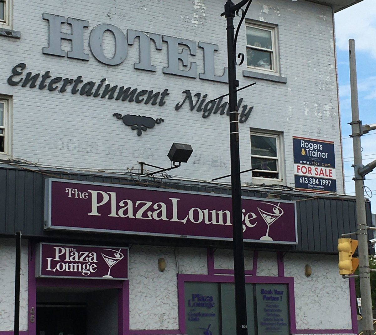 Kingston's only strip club is up for sale after more than a year of closures over the COVID-19 pandemic.