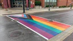 Continue reading: Police investigating vandalized Pride crosswalk in Brantford