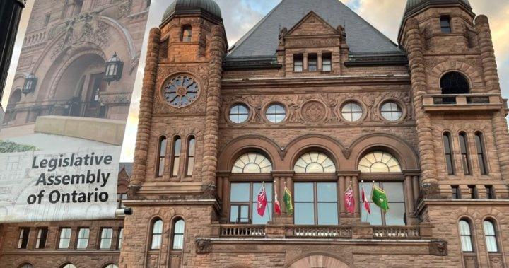 Ontario throne speech prioritizes COVID-19 economic recovery