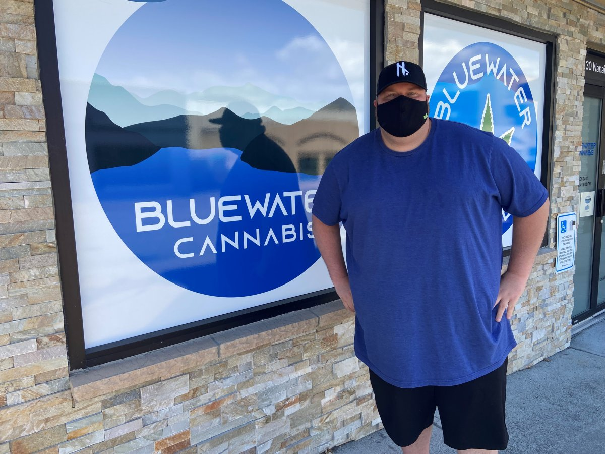 Ryan Graham, general manager of Bluewater Cannabis, welcomes city council's decision to extend operating hours at cannabis retail outlets.