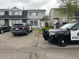 Calgary police were called to the 1200 block of Falconridge Drive N.E. around 5 a.m. Sunday after reports a person had been stabbed.