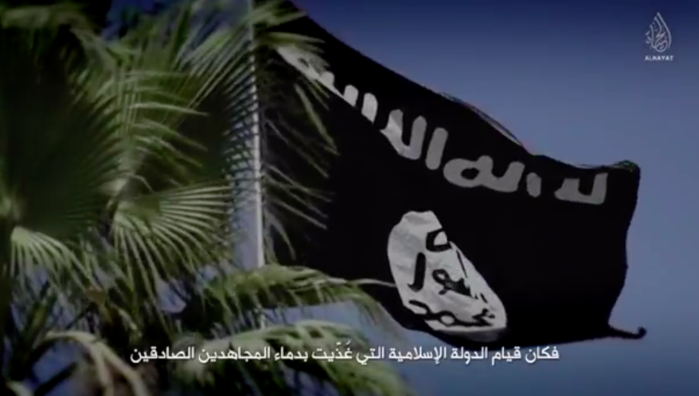 ISIS flag.