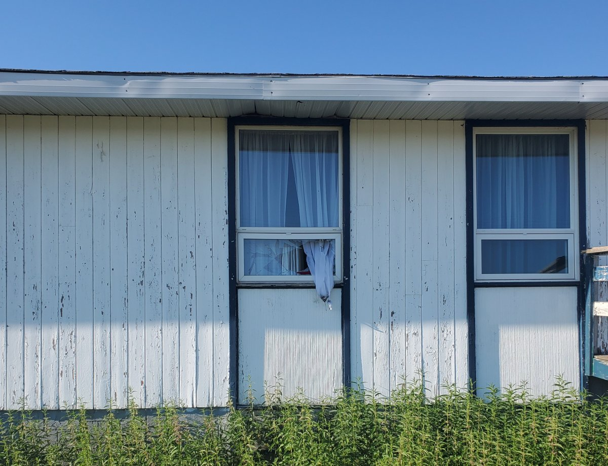 RCMP say someone tried to start a fire inside the Siksika Anglican Church early Tuesday morning.
