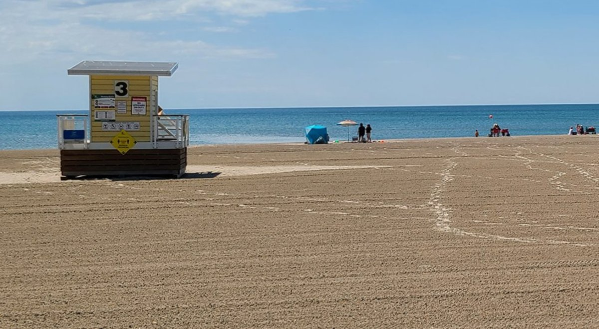 Victoria Beach in Cobourg has been deemed unsafe for swimming until further tests for E.coli levels are complete.
