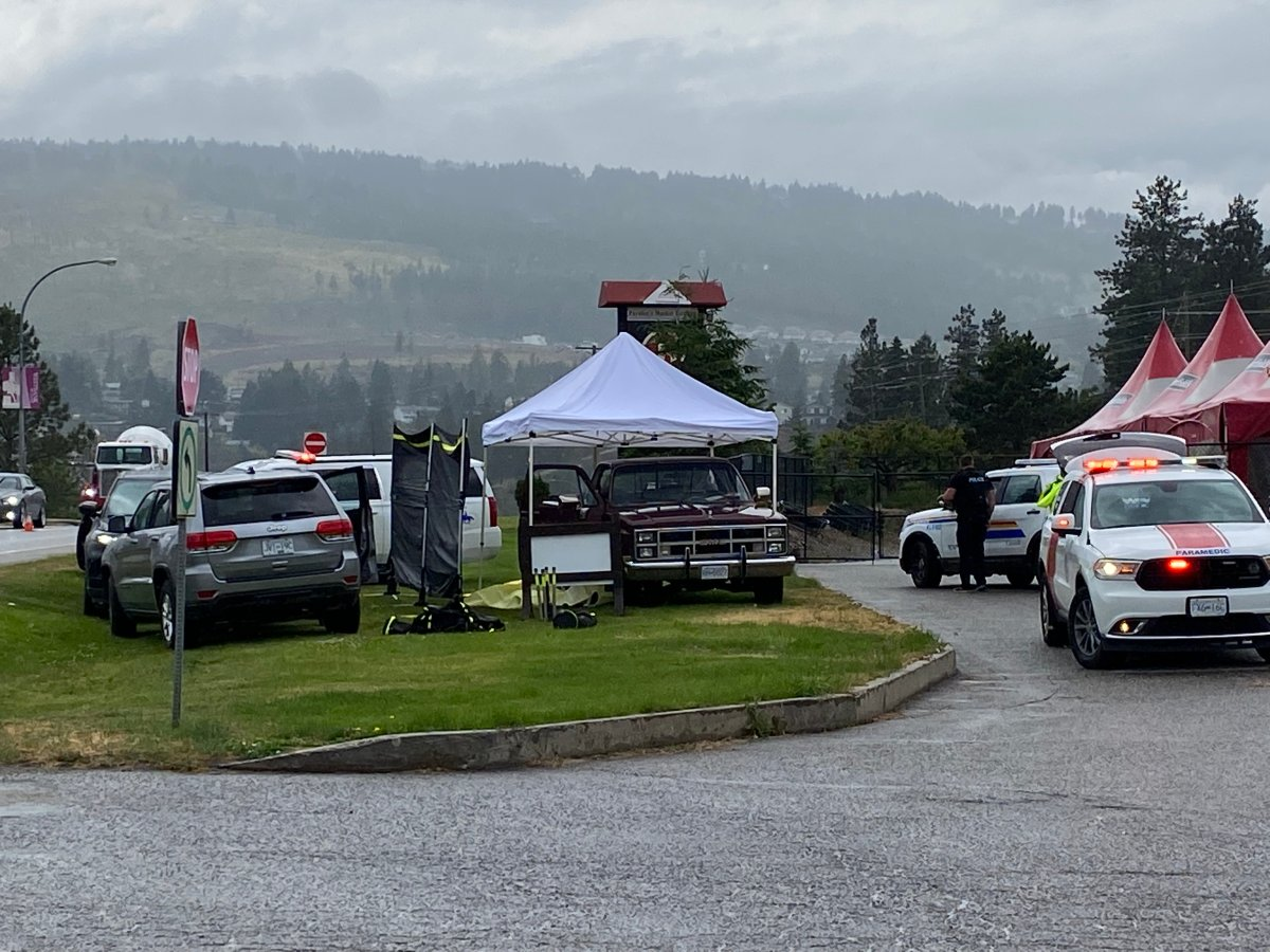 An investigation is underway for a woman found deceased in West Kelowna, B.C.