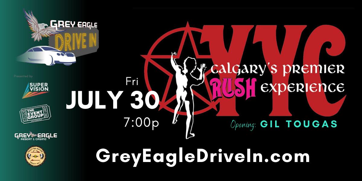 Calgary's Premier RUSH Experience with opener Gil Tougas - image
