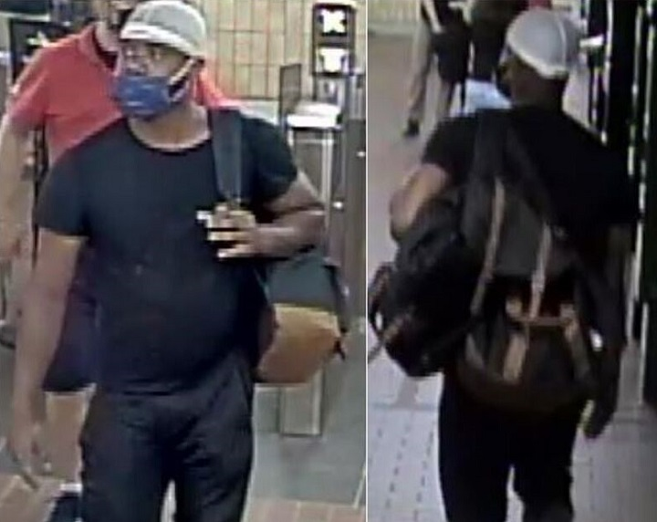 Police released this image of a man in the hope that someone would be able to identify him.