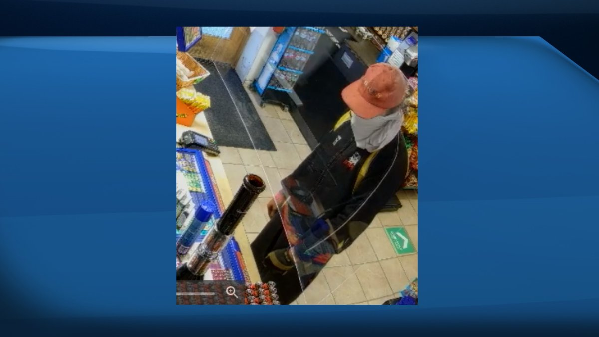 Kingston police are looking for a man they say tried to rob a downtown convenience store late last month. No goods were actually stolen from the store.