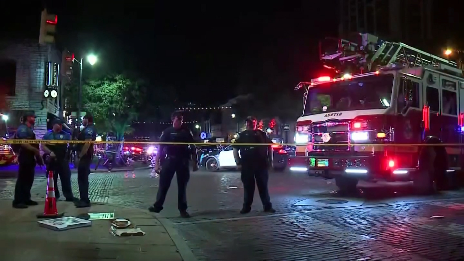 13 injured in shooting in downtown Austin, suspect not in custody: police