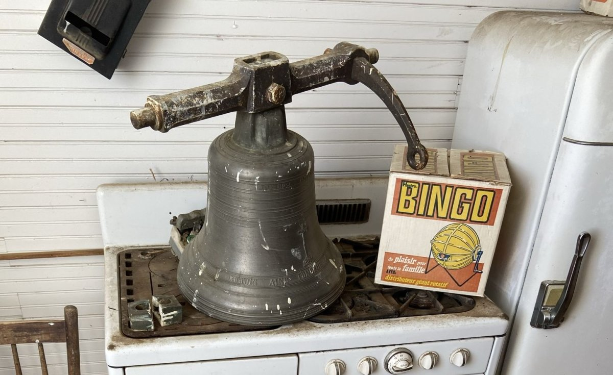 A bell gifted to a southern Saskatchewan church in 1909 was stolen, according to a group that looks after the building.