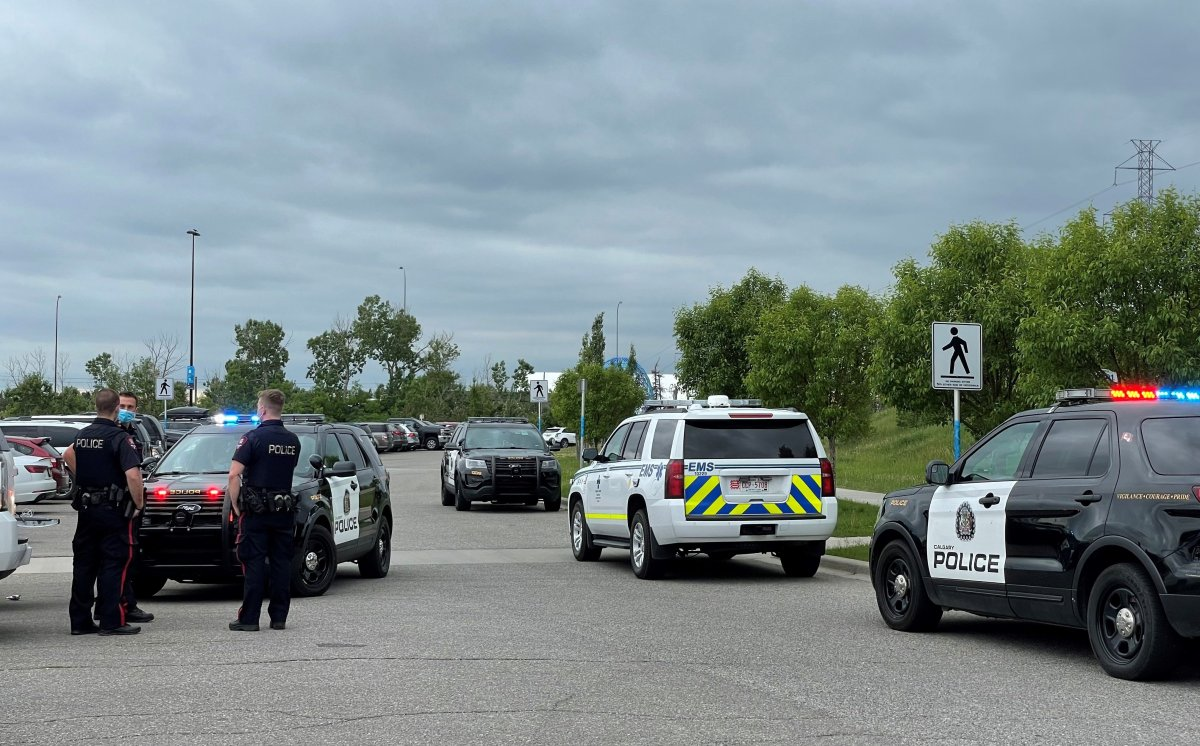 Emergency crews responded to a serious incident at the Calgary Zoo on Saturday, June 19, 2021.