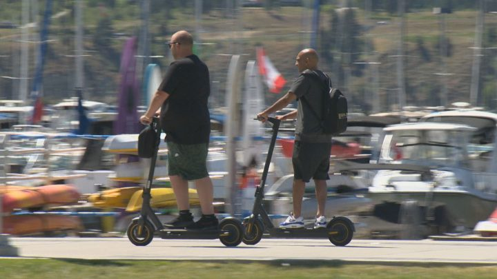 The e-scooter program in Kelowna is set to be reviewed by city council on Monday.