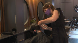 Continue reading: 'Breaking a barrier': Manitobans can finally get their hair cut again
