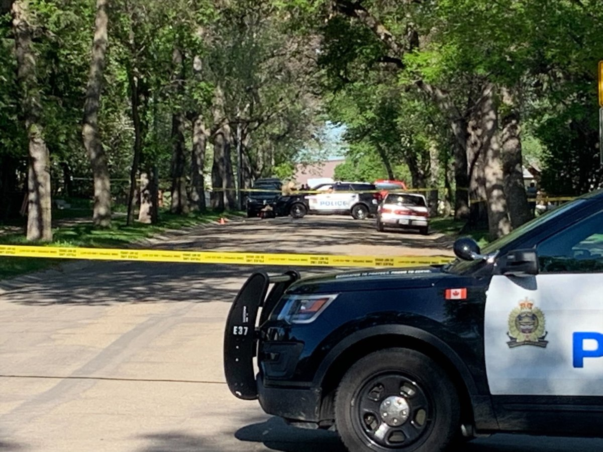Homicide detectives investigate at a residential property in the area of 98 Street and 78 Avenue Wednesday, June 2, 2021.