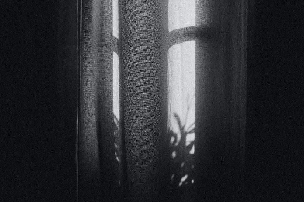 A bedroom window is shown in this file photo.
