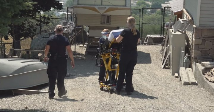 'We are getting the calls as fast as we can': Okanagan paramedics see a surge during heat wave