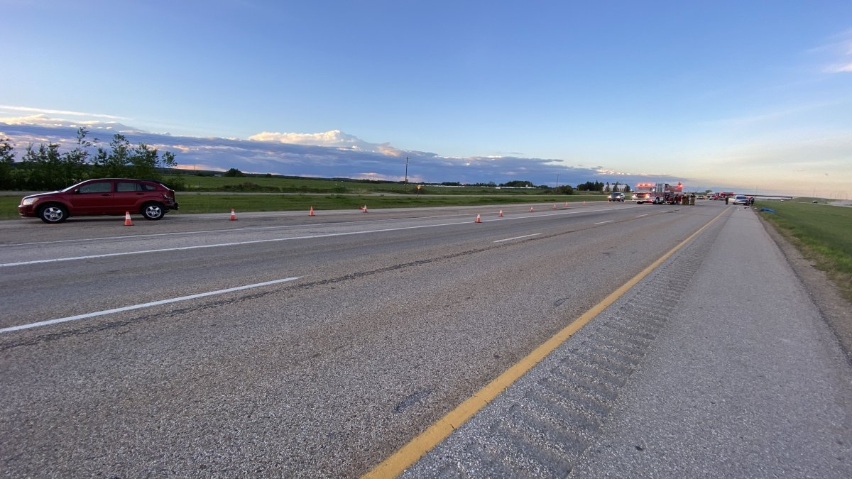 Parkland County RCMP said a collision on Highway 16 and Highway 779 was fatal, Sunday, June 6, 2021.