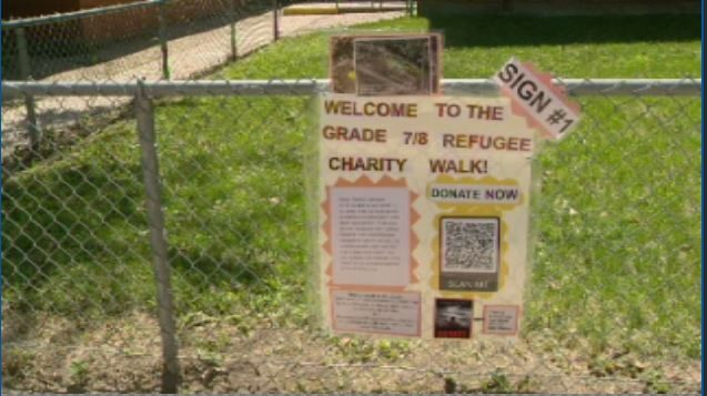 A group of students at a Regina Beach elementary school have organized a fundraiser for local refugees.
