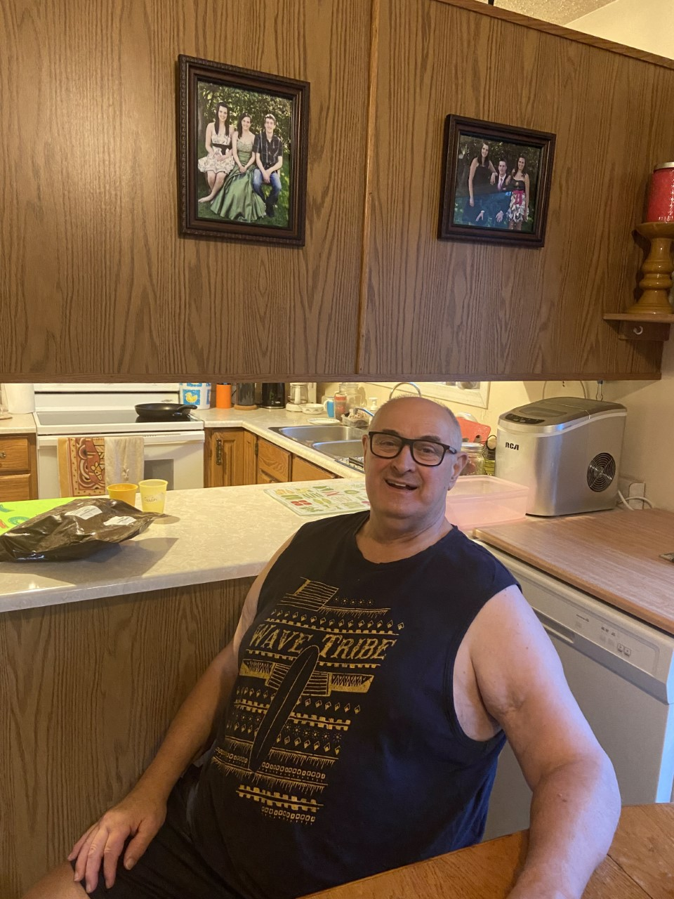 Richard Sommerfeld is recovering at home after staying in three different hospitals over 146 days after catching COVID-19.