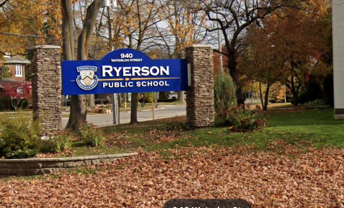 Ryerson Public School, 940 Waterloo St. London Ont.