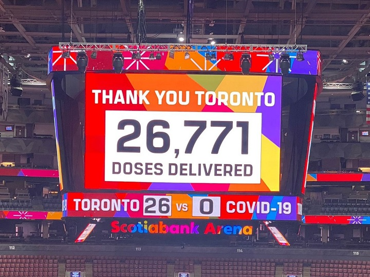 COVID-19: 'Toronto Vaccine Day' clinic sets record of nearly 27,000 shots  in a day, officials say   Globalnews.ca