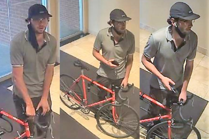 The suspect is described as being approximately 25 years old and 5 feet 10 inches tall with a slim build.