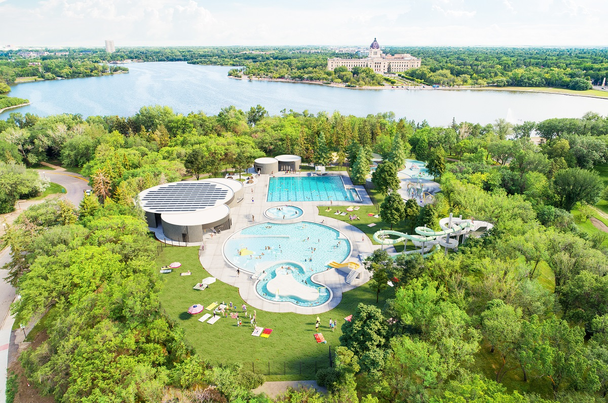 Construction is expected to be completed at Wascana Pool in Regina by the 2023 season.