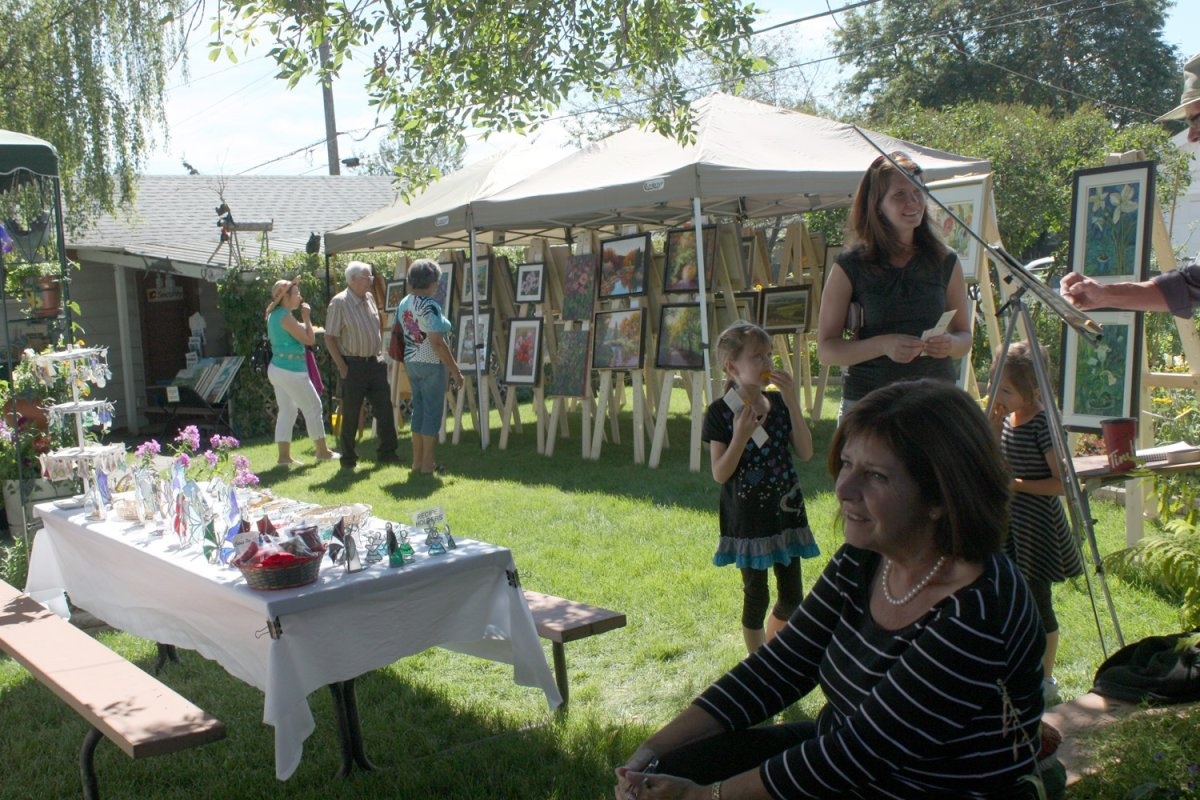 Art in the Garden Show and Sale - image