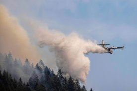 Play video: Wildfire service issues strong warning to those who defy evacuation orders