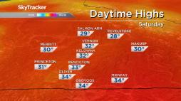 Continue reading: Okanagan weather: 30-degree temperatures, sunshine and heat return