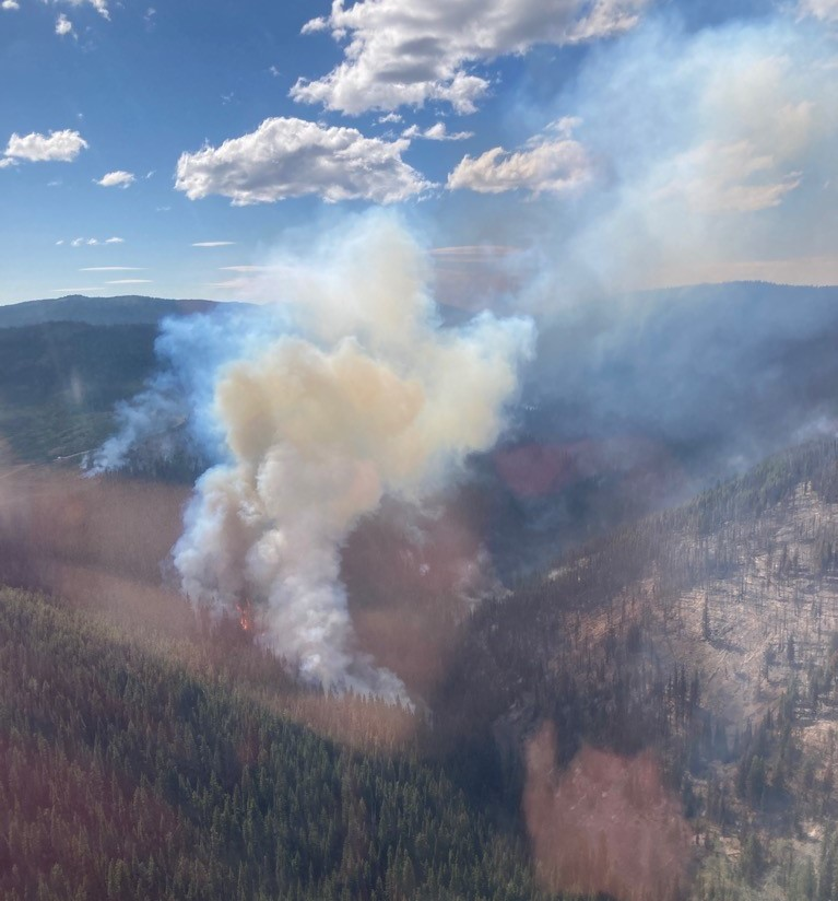 BC Hydro's assessment from the fly-over on Saturday is that there is no damage to their transmission infrastructure in the fire zone, according to Central Okanagan Emergency Operations.