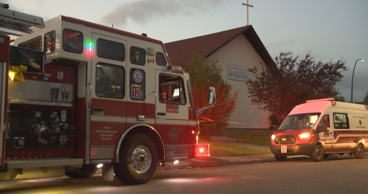 Arson unit investigating blaze at Calgary church; fire may be linked to vandalism incidents – Calgary
