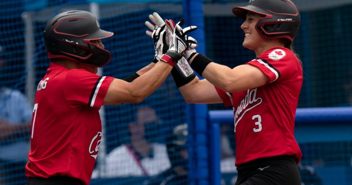 Canada wins bronze medal in softball at Tokyo Olympics, defeating Mexico 3-2 – National   Globalnews.ca