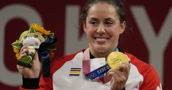 Weightlifter Maude Charron embraces 'weird road' to gold medal at Tokyo Olympics | Globalnews.ca