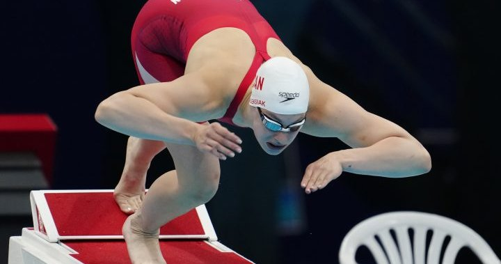 Penny Oleksiak now Canada's most decorated Olympian after women's medley bronze win – National | Globalnews.ca