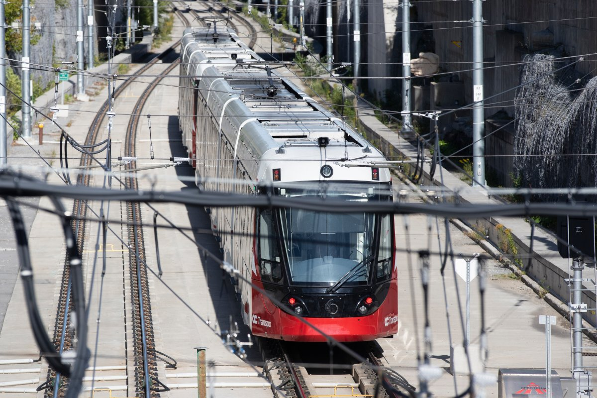 Some 35 workers who do maintenance on Ottawa's light-rail transit system have joined the local union that also represents OC Transpo employees.