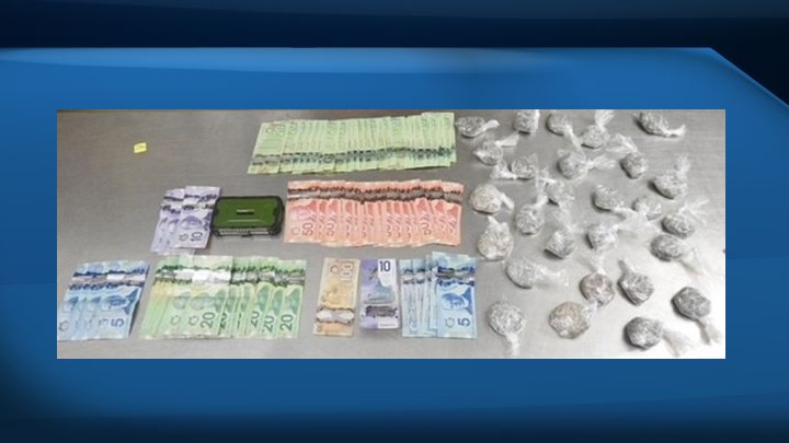 Two Edmonton men have been charged in connection with a drug bust on Thursday that saw police officers seize about $173,400 worth of fentanyl.