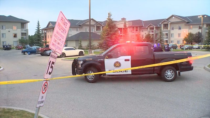 A man in his 40s was seriously injured in a collision in southwest Calgary on Monday, July, 19, 2021.