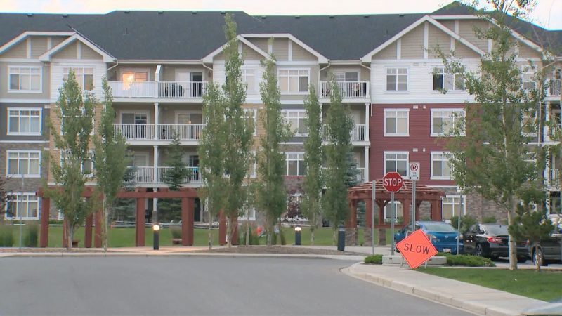 Emergency crews responded to Skyview Ranch on Tuesday, July 13, 2021 for reports a child had fallen from a window.