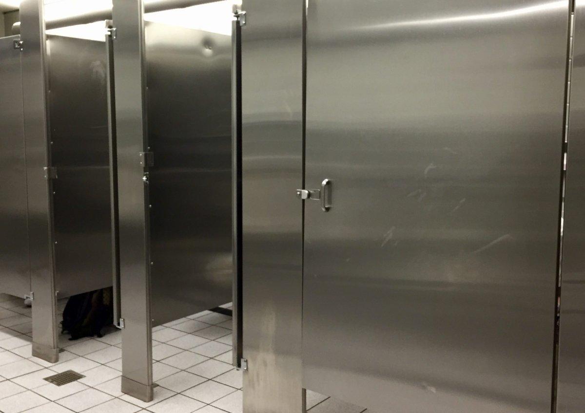Washroom stalls.