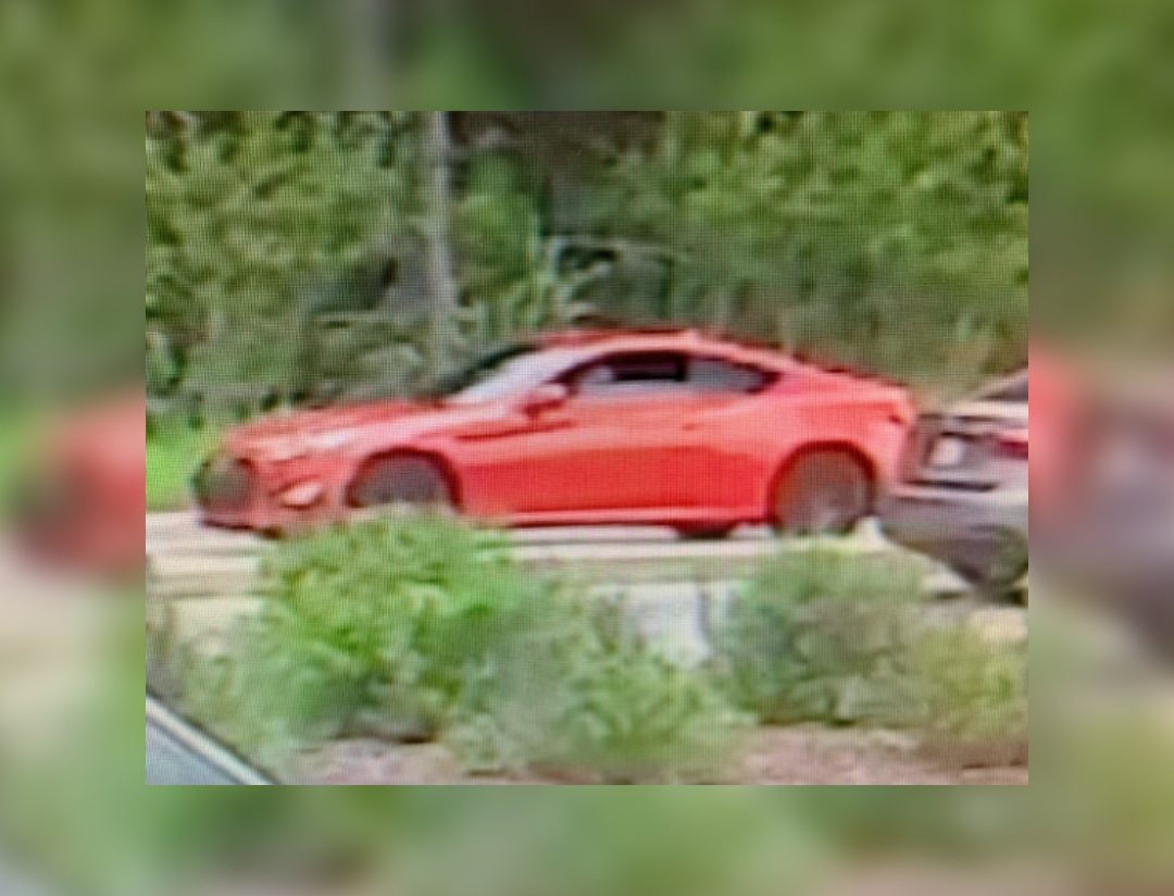 Guelph police are looking for a car that was involved in a hit-and-run.