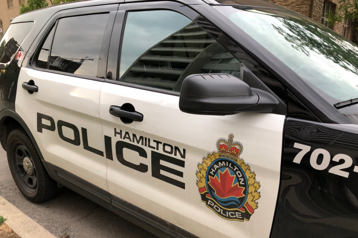Hamilton Police say one person has been hospitalized after a motorycle crash in the city's east end.