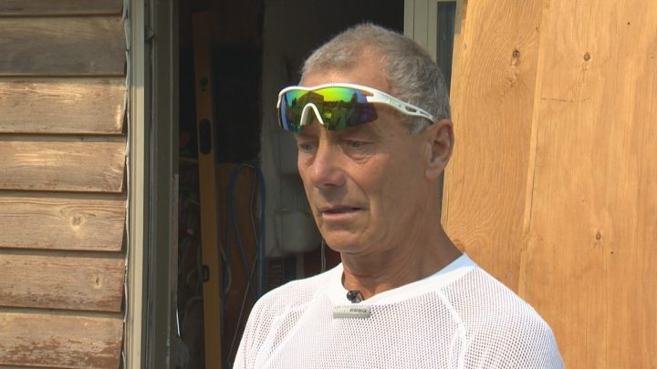 Janusz Grelecki took Global News for a tour of his home Gibson Road in Kelowna.