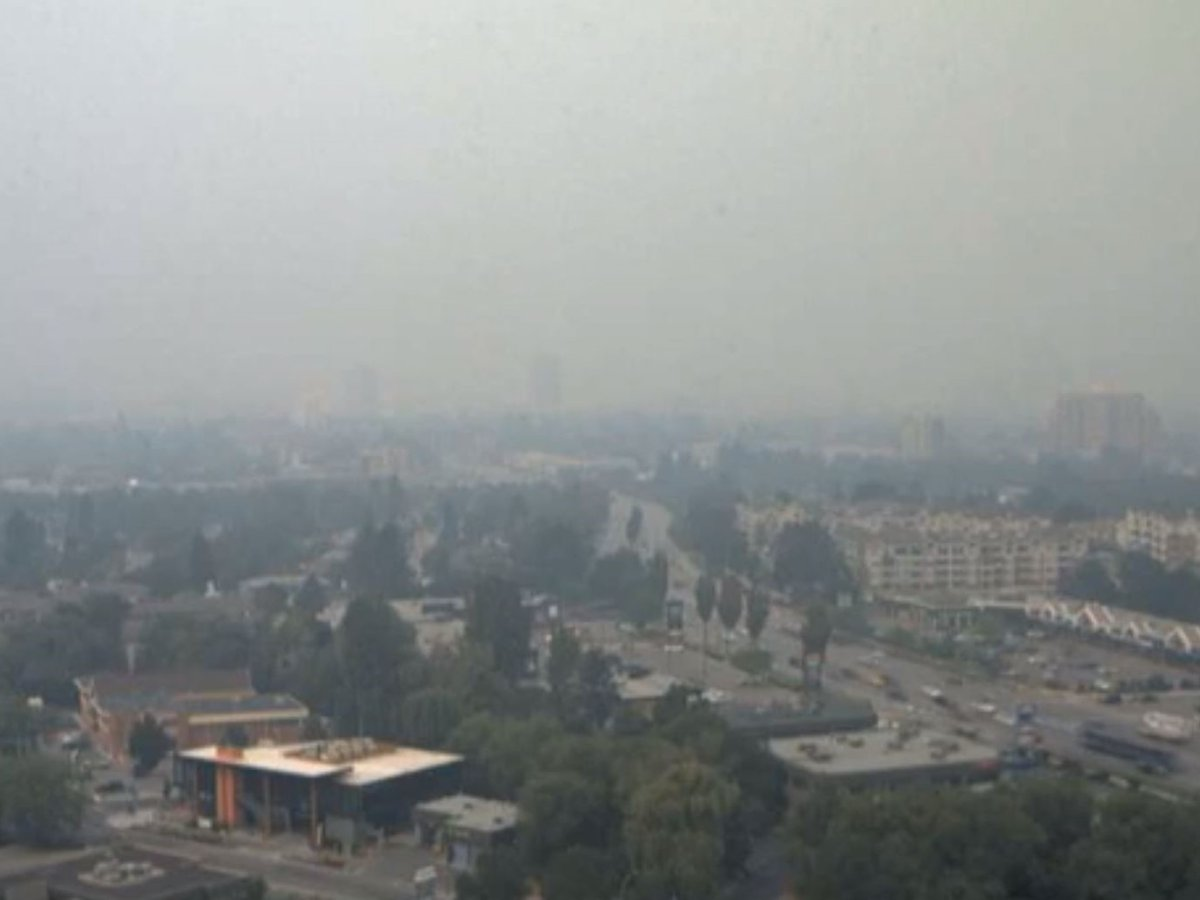 A view of Kelowna on July 31, 2021.