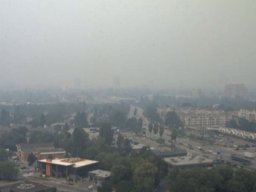 Continue reading: Wildfire smoke: Air quality index for Okanagan maxes out at 10-plus, again