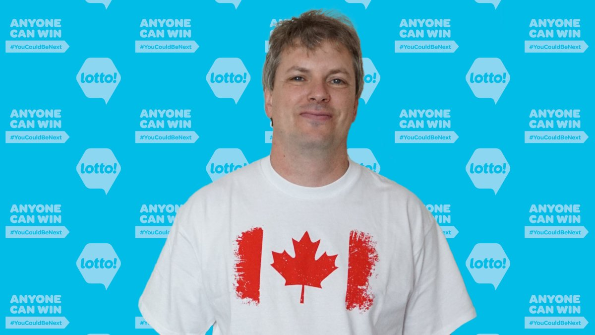 David Dube of Kelowna won $500,000 after matching four numbers on the Lotto Max Extra drawn for Jan. 19.