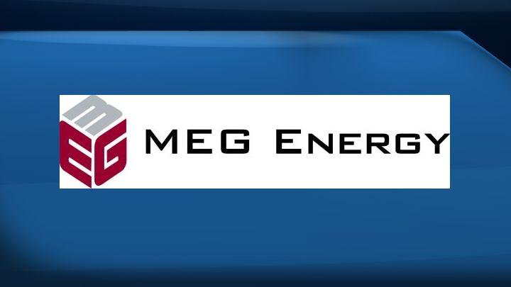 A file photo of the MEG Energy logo.